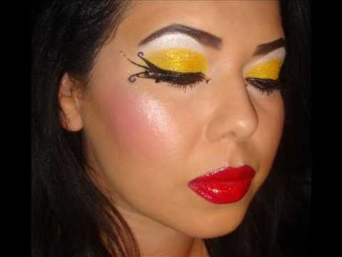 Bumble Bee Makeup http://shelf3d.com/Search/Uploaded%20by%209TwelveMUAStudios