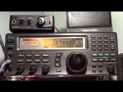Radio Thailand heard on 13745 Khz Shortwave 0000 UTC