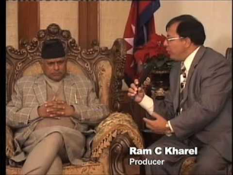 Sagarmatha Tv USA Interview with President of Nepal Rt. Hon. Dr. Ram Baran Yadav Part-2