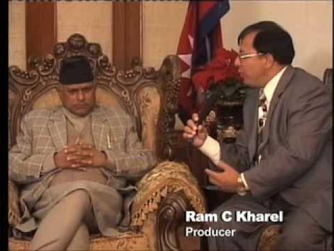 Sagarmatha Tv USA Interview with President of Nepal Rt. Hon. Dr. Ram Baran Yadav Part-2