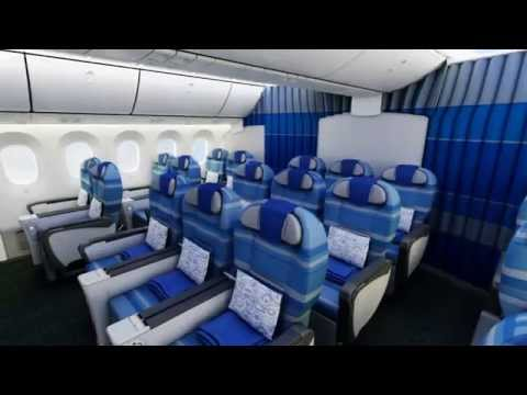 LOT Boeing 787 Dreamliner - interior