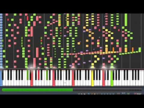 Orchestral Death Waltz - Synthesia [WITH MIDI LINK]