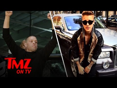 Nate Diaz's Next Fight May Be With Justin Bieber! (TMZ TV)