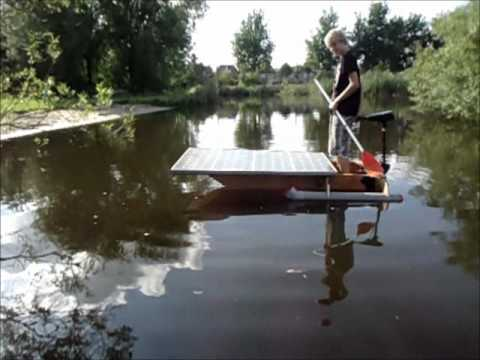 How to make a plywood electric boat motor