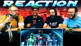 Power Rangers Official Trailer #2 REACTION!!