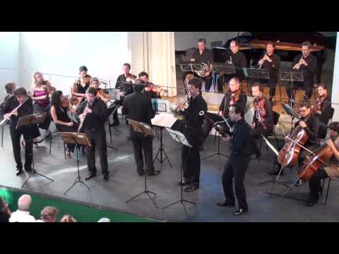 Mozart Concertante for flute, oboe, horn, basson KV297b 1st  movement
