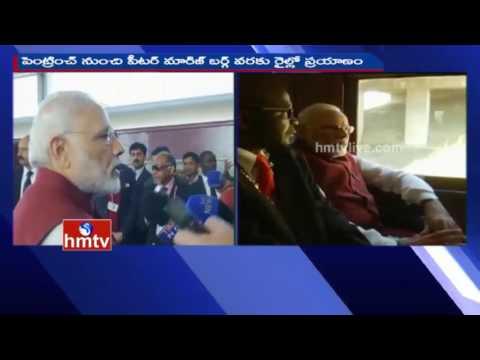 PM Modi to Mark Gandhi's Historic South African Ride   HMTV