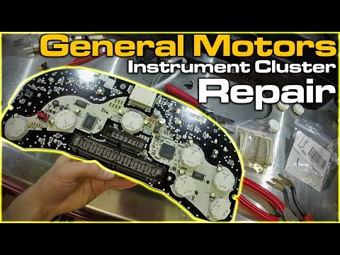 GM Instrument Cluster Repair