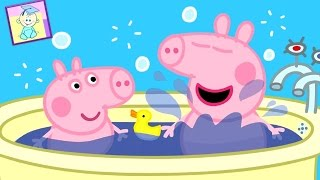 Peppa Pig Cleaning Bathroom Game - Humpty Dumpty - Games for Kids from Baby Teacher