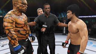 Bruce Lee vs. Thing (EA Sports UFC 2) - CPU vs. CPU 🐉