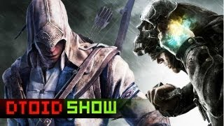 Assassin's Creed 3 New Gameplay, Princess Leia in Dishonored and EA SUES ZYNGA! Plus Doom 4!