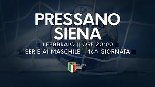 Serie A1M [16^]: Pressano - Siena 27-22