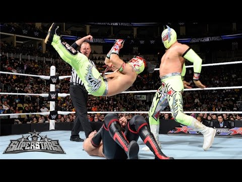 The Lucha Dragons Vs The Ascension WWE Superstars March 13 2015