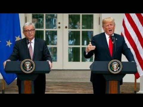 Trump, EU officials meeting a positive step towards free trade