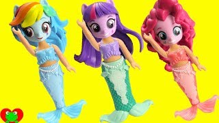 My Little Pony Equestria Girls Mermaid Transformation