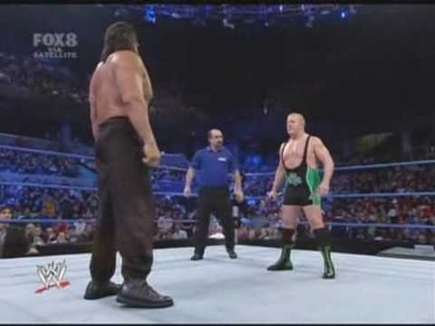 SmackDown! (25/01/2008) - Finlay VS The Great Khali