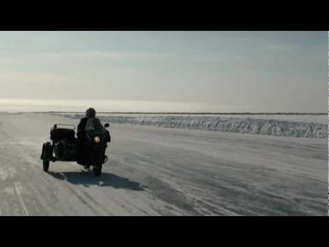 Ice Road Motorbike Drive By