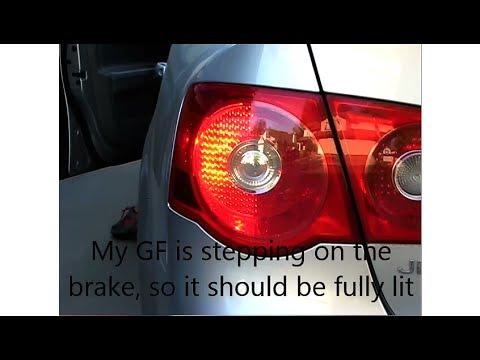 How to change Brake Light bulbs on Jetta 2.5 MkV
