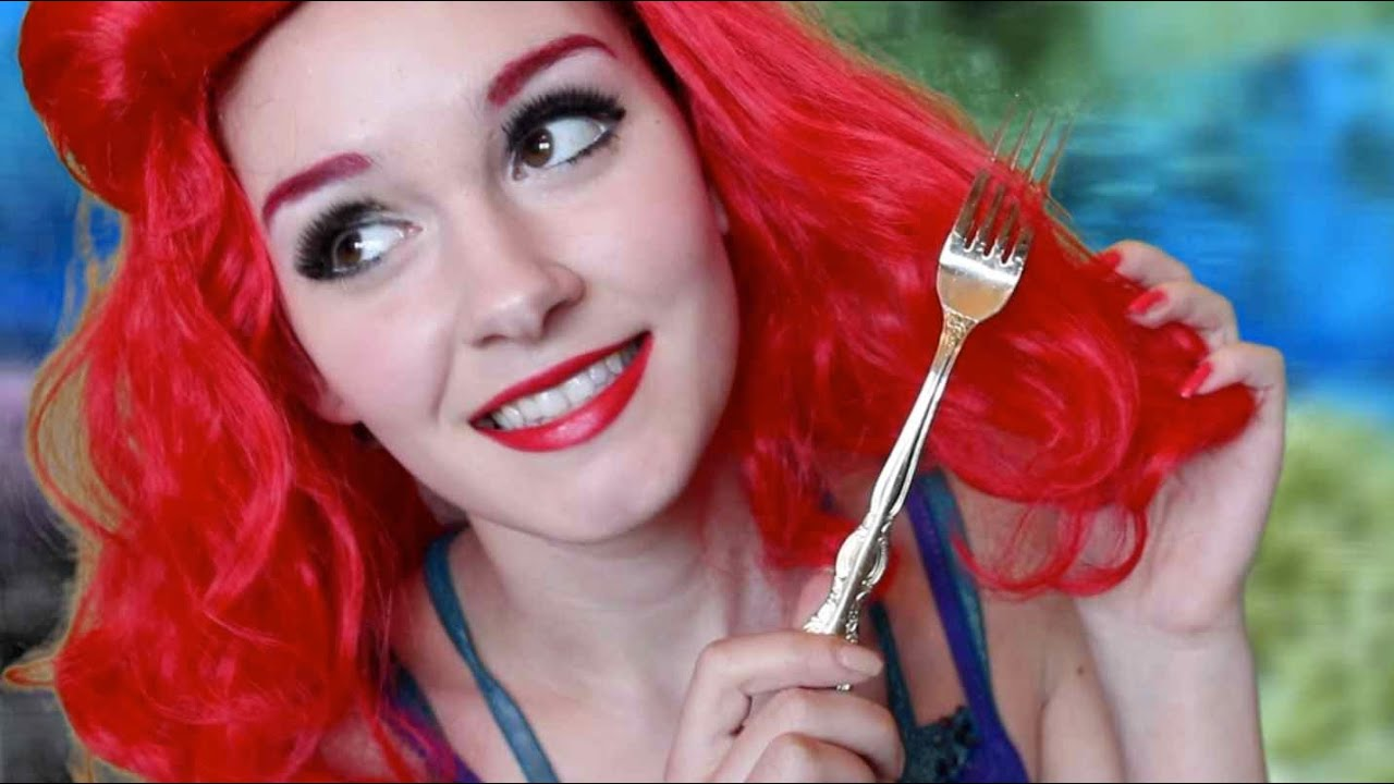 Little Mermaid Ariel Makeup Tutorial