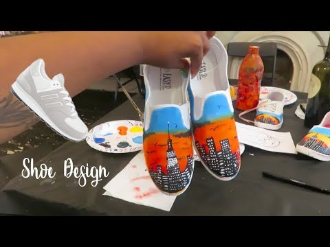 Designing Shoes with a Fashion Designer in New York