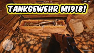 TANKGEWEHR M1918 SNIPER RIFLE ELITE CLASS BATTLE PICKUP LOCATION! - Battlefield 1