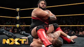 Bronson Reed vs. Shane Thorne: WWE NXT, Aug. 21, 2019