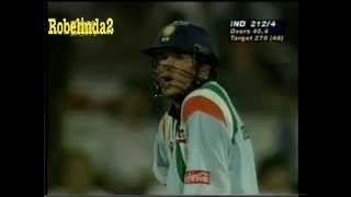 *SHARJAH SACHIN GOLD!* Sachin Tendulkar BALL BY BALL 143 vs Australia 1998