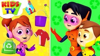 Recycling Song | The Supremes | Cartoons Videos & Songs For Babies - Kids TV