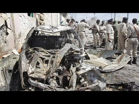 Somalia: Suicide car bomb attack on UN convoy near Mogadishu airport