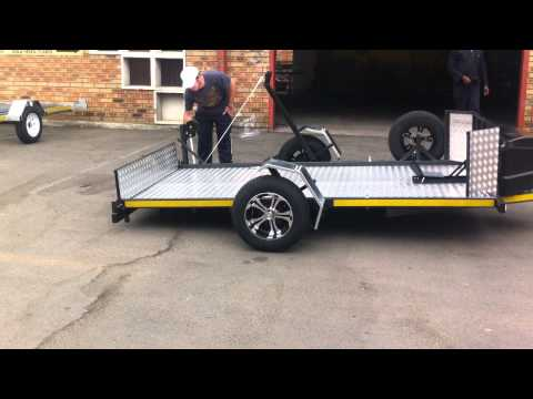 Ground Loading Trailer by Ground Zero Trailers   PART 1   The Affordable Ground Loading Trailer