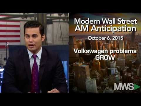 Modern Wall Street AM Anticipation: October 6, 2015