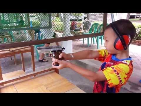 ทดสอบ ยิงปืน gun blank zoraki mod914 ต่อ ศุภกร