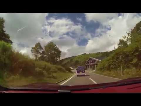 Shiga Kusatsu Road, Route 292, Porsche 981S PSE (Porsche Sport Exhasut)