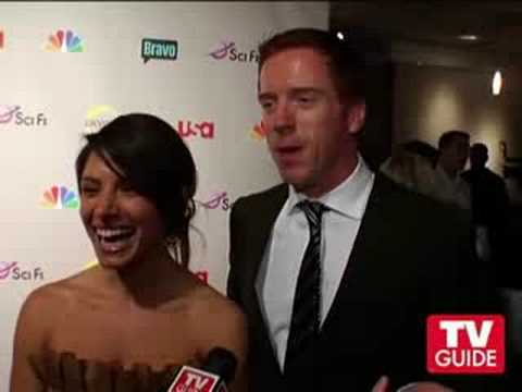 Sarah Shahi and Damian Lewis TV Guide interview