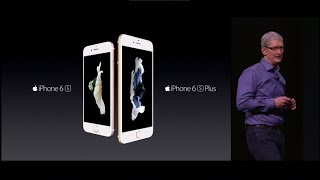 The New iPhone 6s & iPhone 6s Plus 2015 Keynote [ Cost, Specifications & Features ]