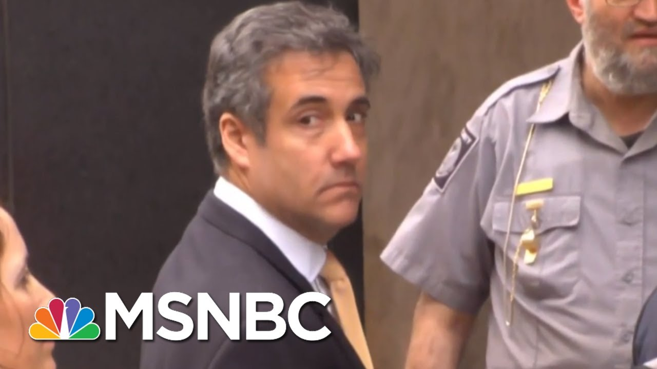 Michael Cohen: Donald Trump Is Not Being Truthful About Russia Probe | Hallie Jackson | MSNBC