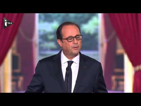 François Hollande face aux journalistes