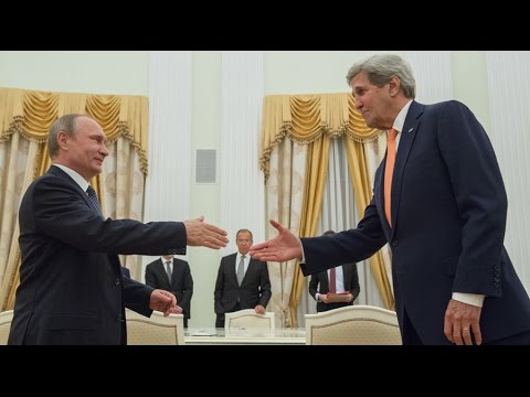 Kerry & Putin discuss security partnership in Syria