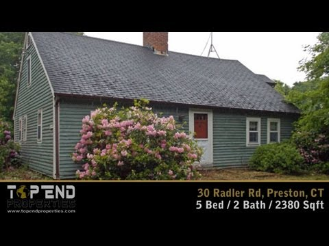 Home For Sale in Preston, CT - 30 Radler Rd - Bank of America (BOA) / CHFA Short Sale