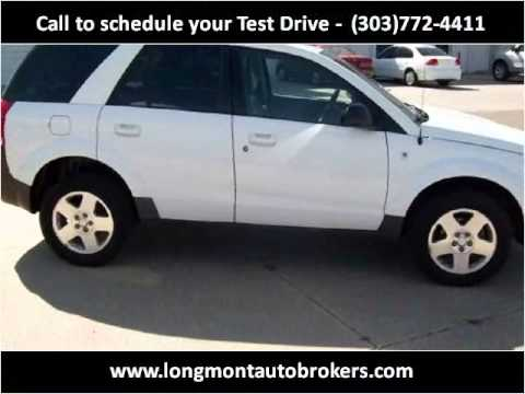 2004 Saturn VUE Used Cars Longmont CO