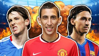 Top 10 Worst Transfers In Football History!