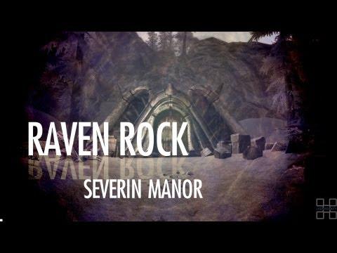 [Skyrim] Raven Rock House (Severin Manor) - Dragonborn DLC, SPOILERS