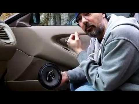2001 Honda Accord Coupe door speaker replacement