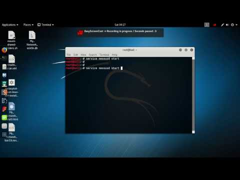 Beginning with Kali Linux: hacking a Metasploitable machine.