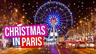 Christmas in Paris | Noël à Paris | Paris France
