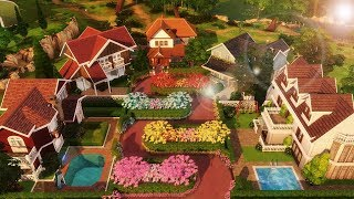 RUA DAS FLORES (Lombard Street) │ The Sims 4 (Speed Build)