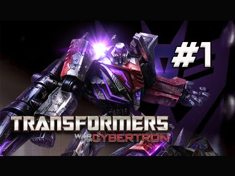 Transformers War for Cybertron Walkthrough - Part 1 [Chapter 1] Dark Energon Let