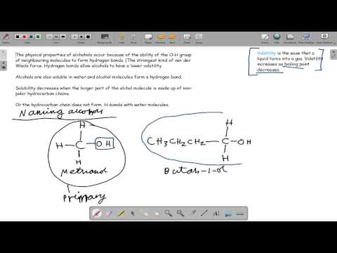 2.2.1 – 2.2.2 Making and Identifying Alcohols