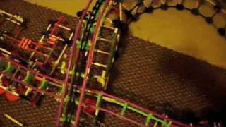 knex coaster velociraptor final update(4th)