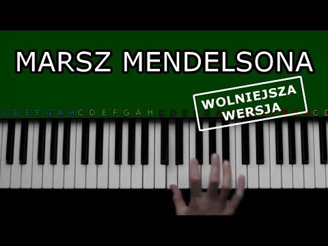 Jak Grać Marsz Weselny Mendelssohna Na Keyboardzie. Wolniejsza Wersja